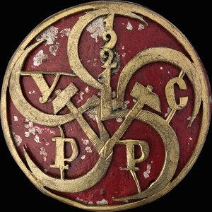1921 г. Знак делегата 5-го Всеукраинского съезда рабочих