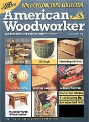 Журнал American Woodworker №157 2011