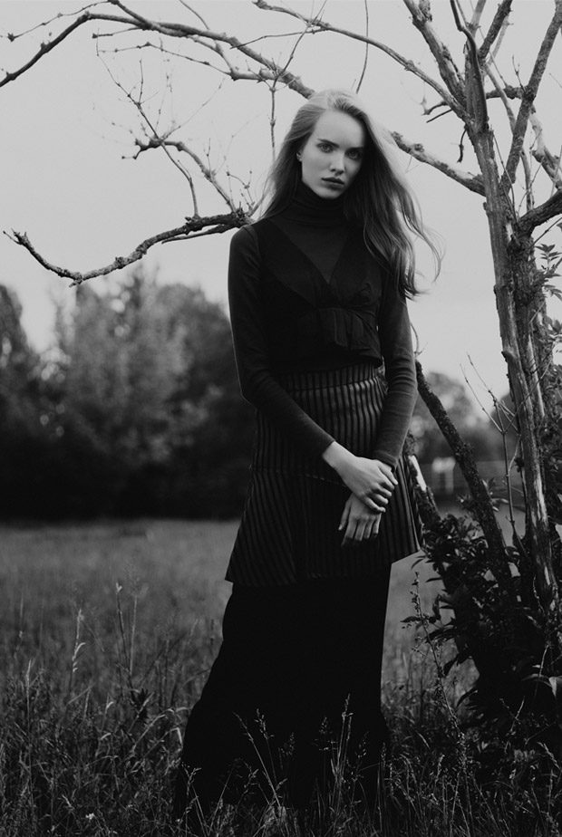 Dress + Skirt: Bimba y Lola Top: Zara Shirt: Stylist Own