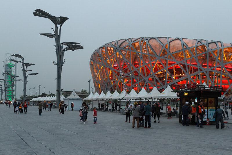 Пекинский национальный стадион, Олимпийский парк, Пекин
