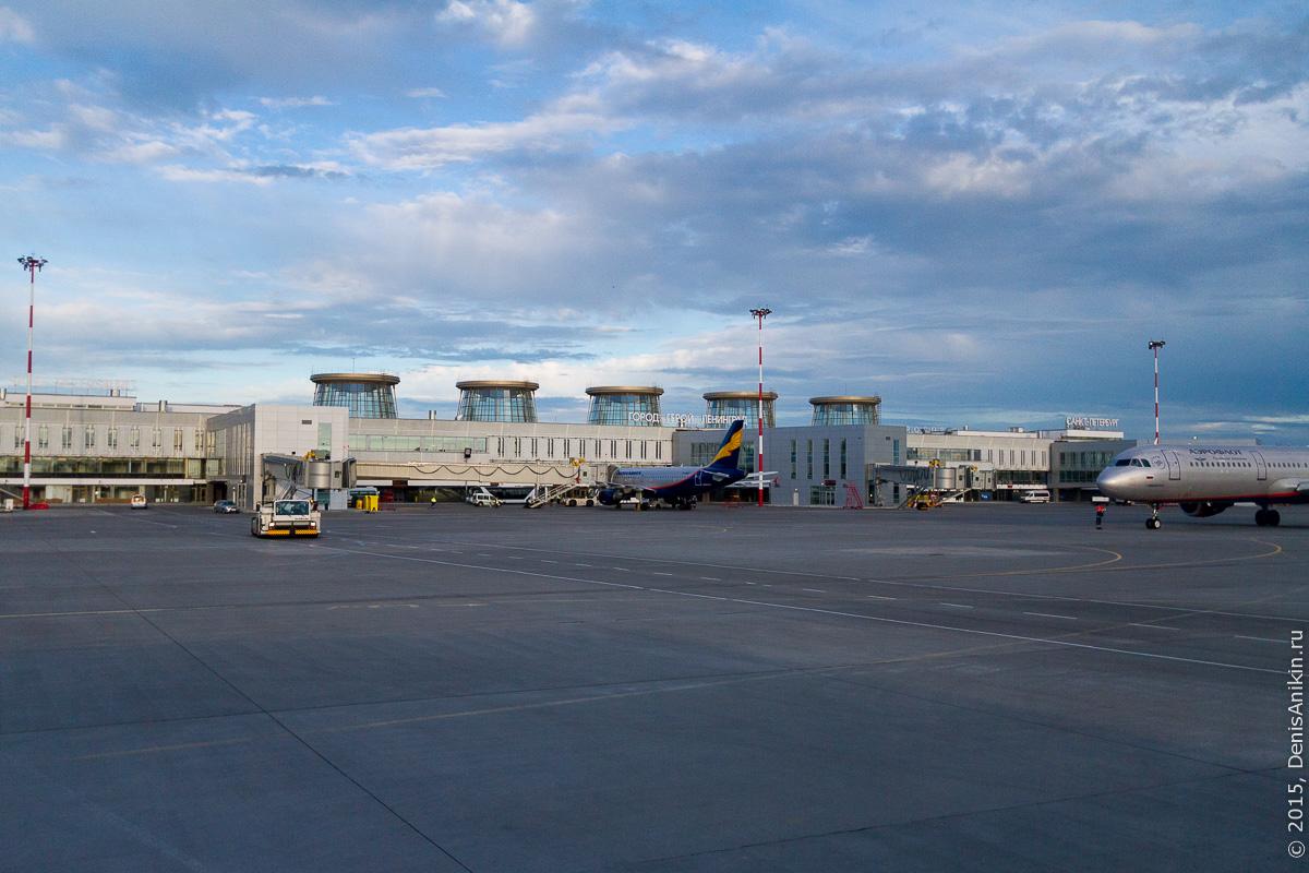 Полёт Саратов - Санкт-Петербург 35