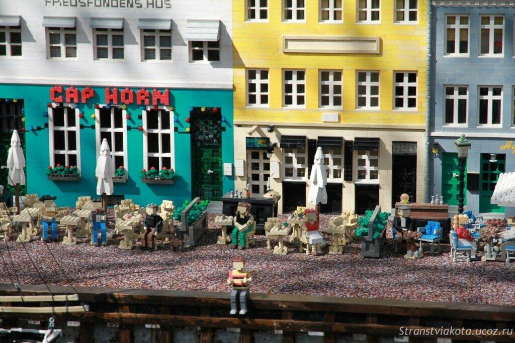 Парк Леголенд, города из кубиков Лего