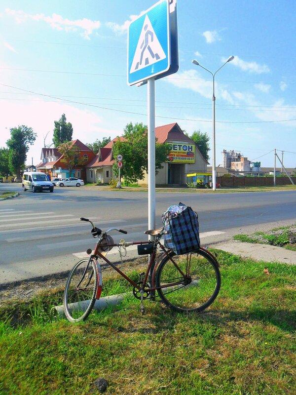 Велопоход, туризм, Кубань, в дороге, 2014 год, август