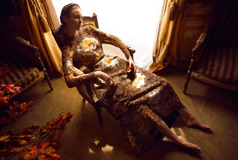 Моника Ягачак / Monika Jagaciak by Camilla Akrans in Vogue Italia september 2013