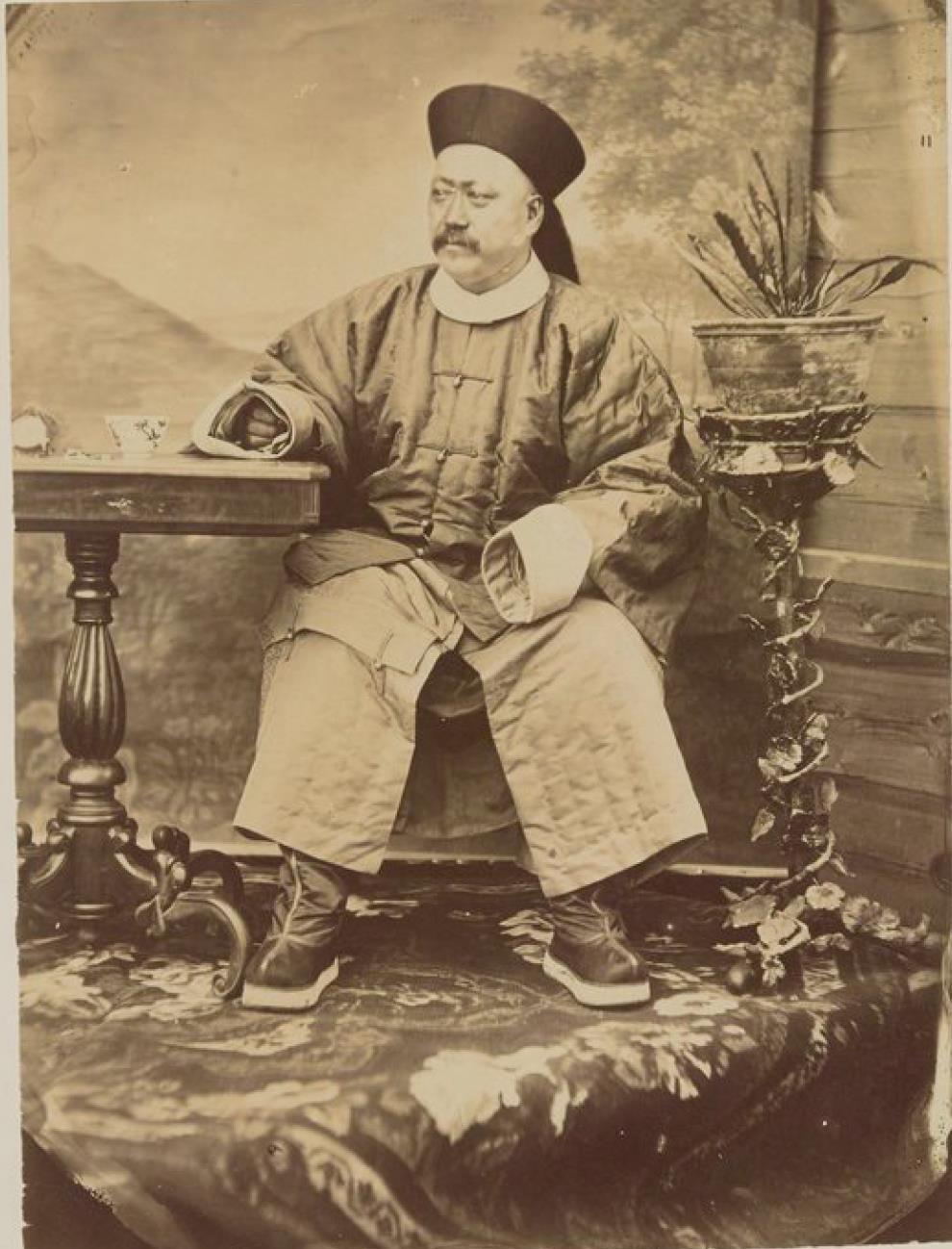 01. Чхан-чин, маньчжурский генерал, губернатор города Цицикар (1872)