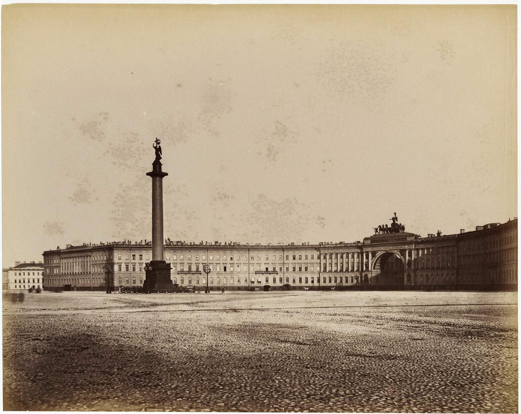 1870. Дворцовая площадь