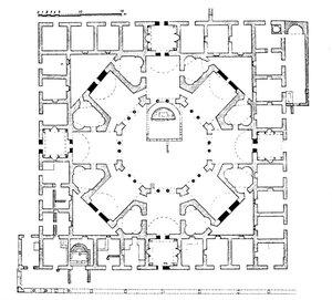 Храм св. Филиппа в Иерополисе, план