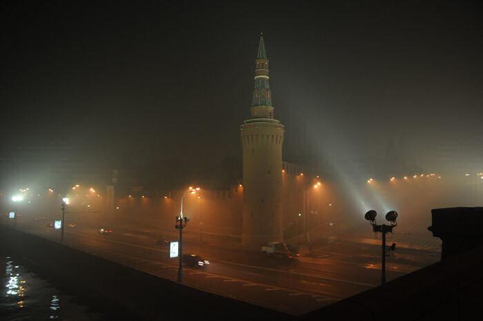 Кремль, смог