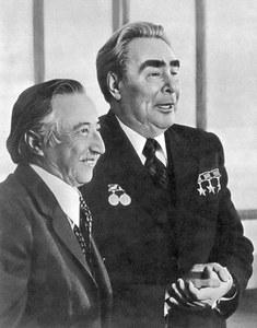 С Брежневым