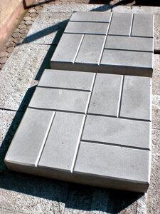 Плитка тротуарная Кирпичики, 40 х 40 х 5 см
