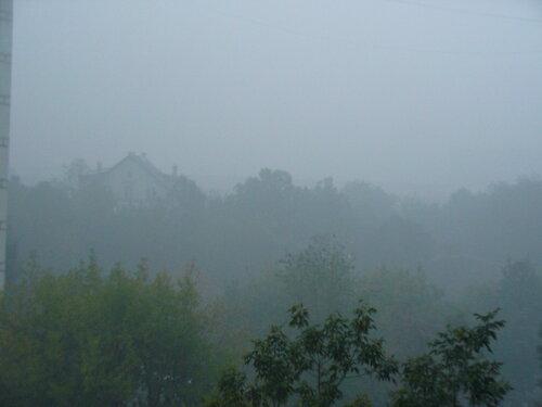 Москва, Лефортово, утро 4 августа - дым
