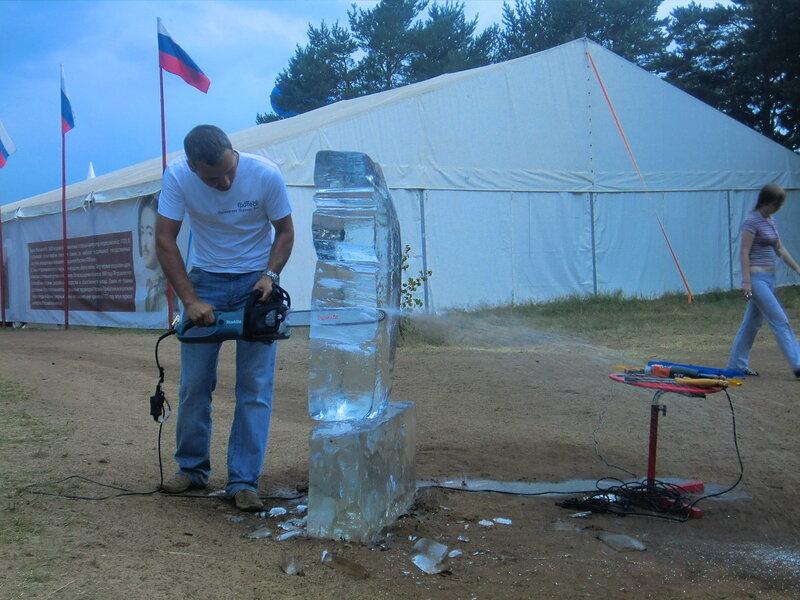 Пила для льда своими руками