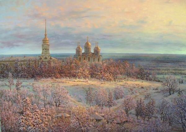 Успенский собор во Владимире - главный храм Владимиро-Суздальского княжества был заложен 8 апреля 1158 года князем...