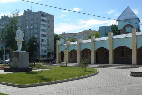 Тротуарная плитка на ул. Ленина в Клину