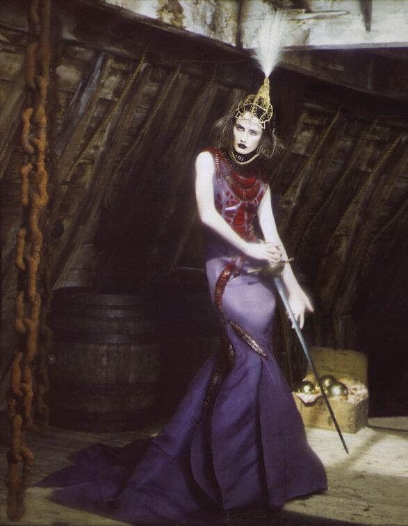 необычный мода fashion story  Пиратская фешн стори Мятежная красота