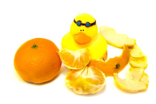 Уточка-мандаринка