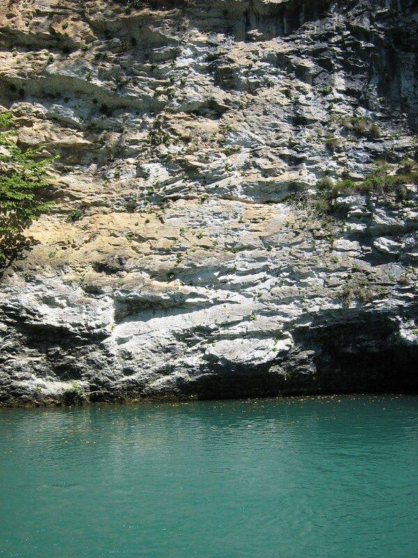 Абхазия. Голубое озеро