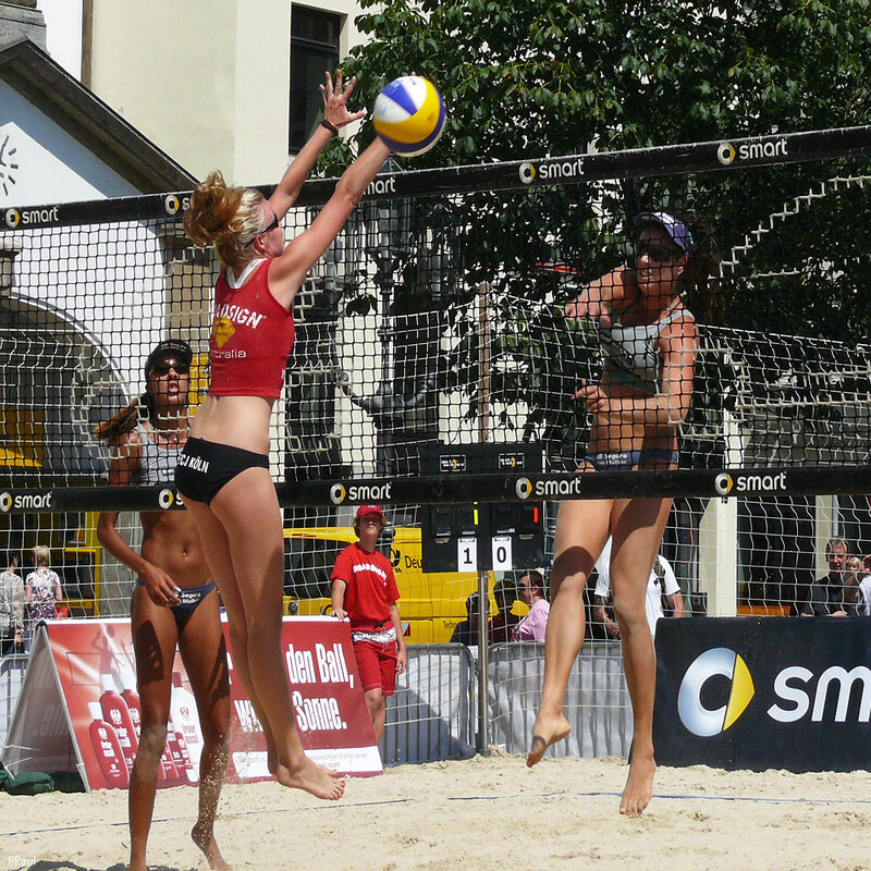 турнир по пляжному волейболу в Бонне