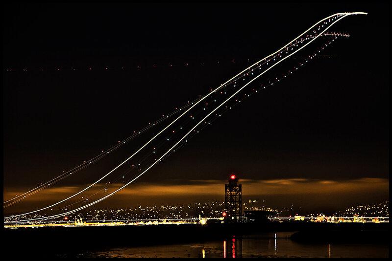 взлеты и посадки самолетов