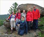 Группа московских туристов-ЯФовцев на Столбах