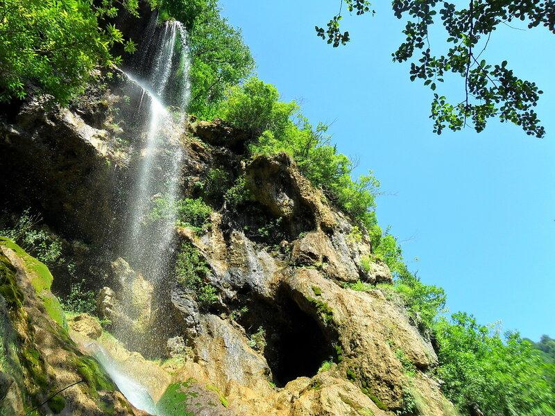 На тропе, у водопада ... SAM_1096