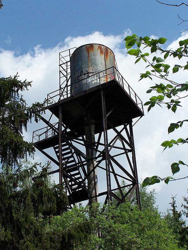Водонапорная башня пансионата Жемчужина