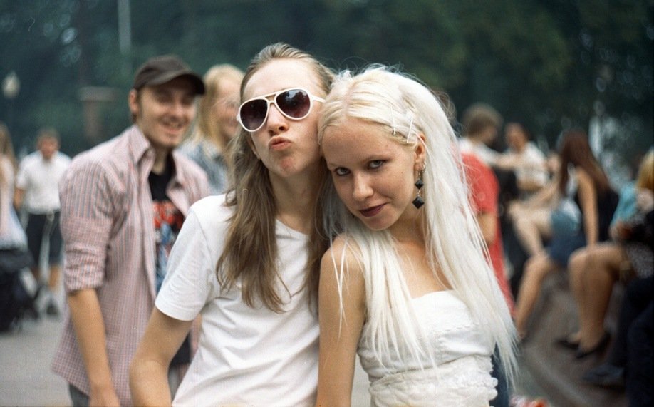 Две милые дамы.