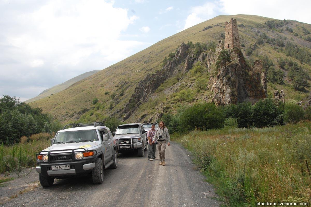 Родовой замок Оздоевых в селении Вовнушки