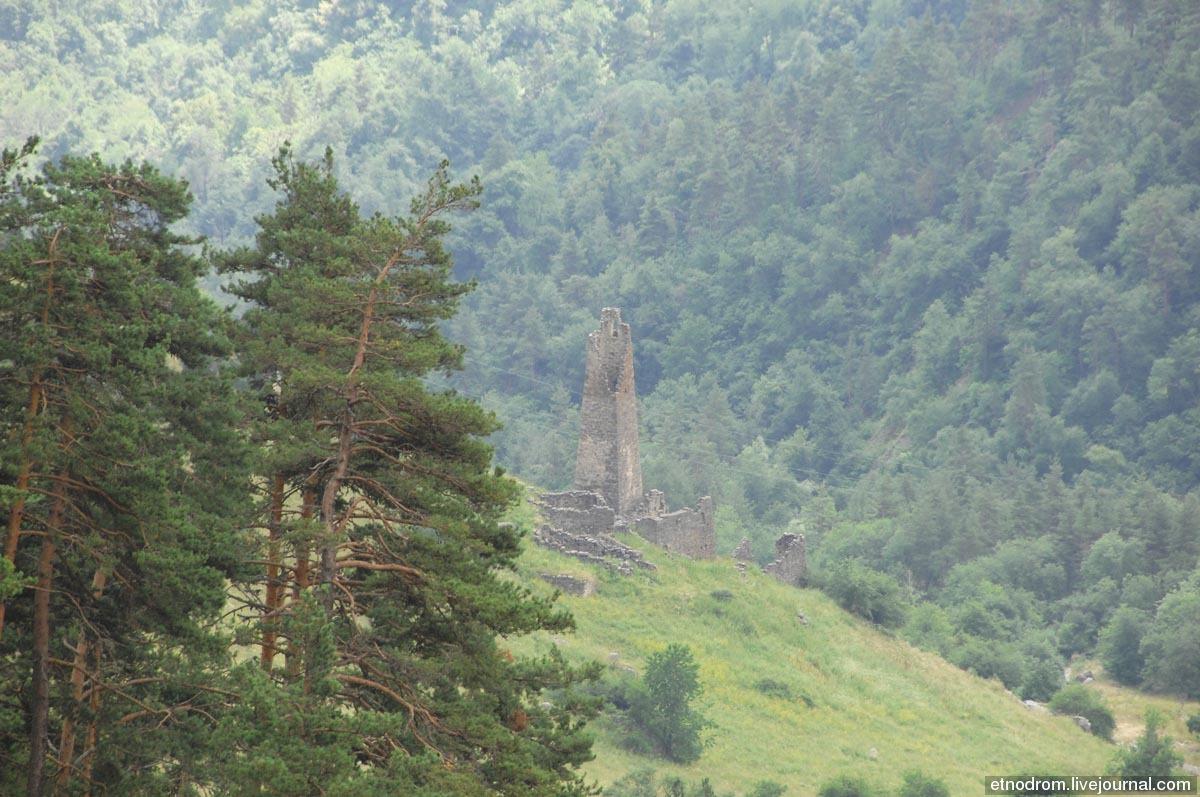 Остатки боевой башни в Дошахкле
