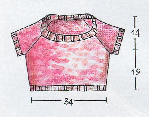 Мини-пуловер схема