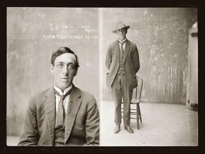 Посмотрите, как выглядели бандиты в Америке в 20-х годах.