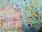Жигалова Злата (рук. Сергеева Светлана Анатольевна) - В ожидании Нового года