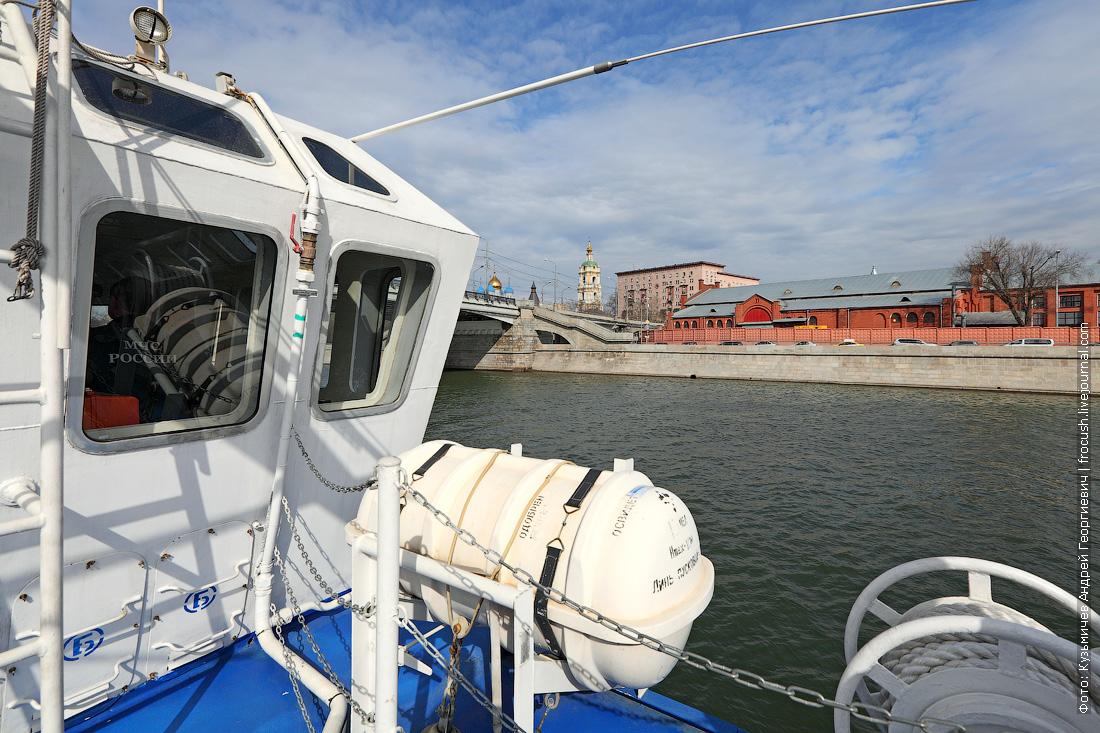 спасательный плот многоцелевой пожарно-спасательный корабль Полковник Чернышев