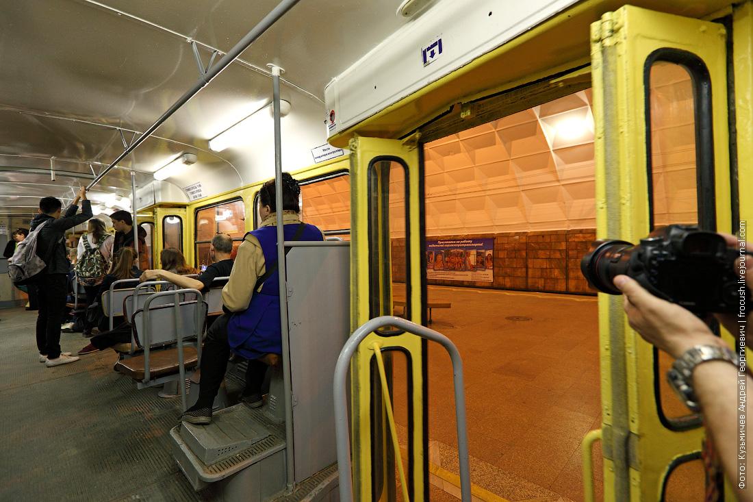 в скоростном трамвае Волгограда
