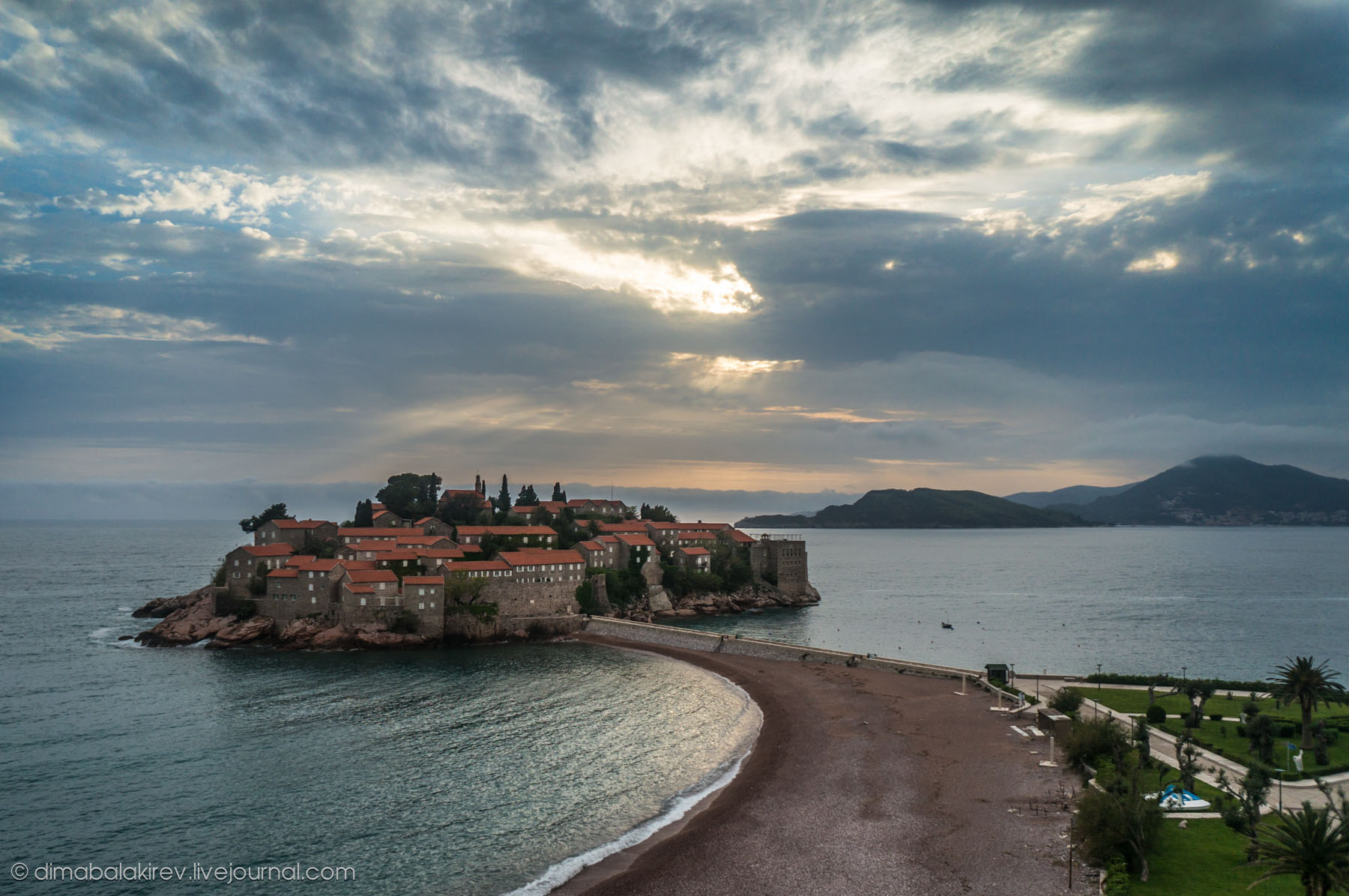 Sveti Stefan —остров Святого Стефана