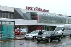 Аэропорт «Рига» приостановил работу из-за угрозы взрыва