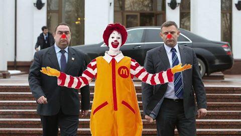 Кремлевские клоуны