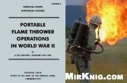 Книга Portable flame thrower operations in World War II