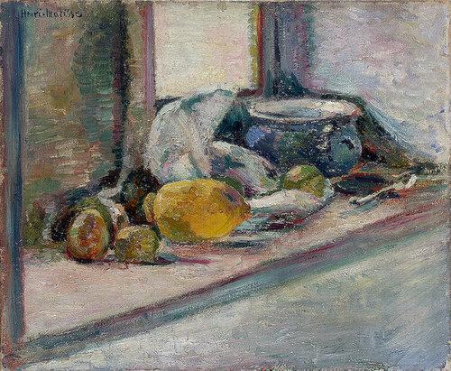 Синий горшок и лимон , 1897.jpg