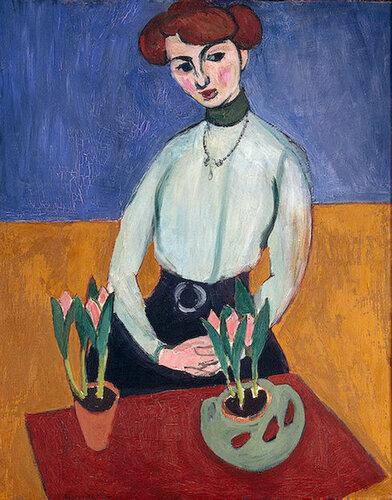 Девушка с тюльпанами1910.jpg