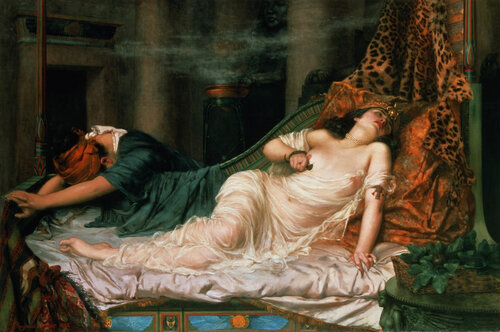 'The Death of Cleopatra' by Reginald Arthur