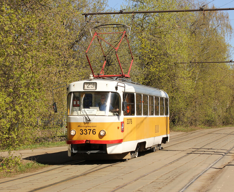 Трамвай 3376