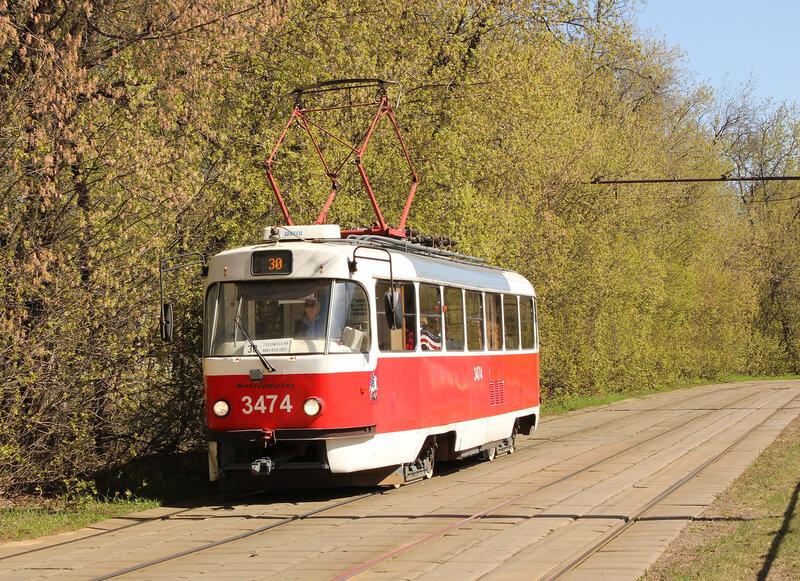 Трамвай 3474