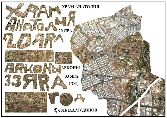 чтение надписей на урбаноглифе Анкары