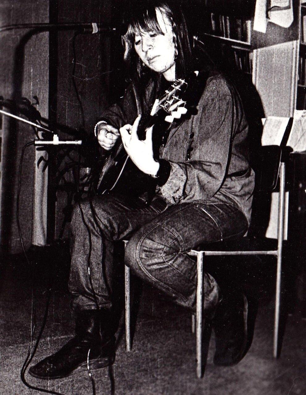 1991. Концерт Янки в Иркутске