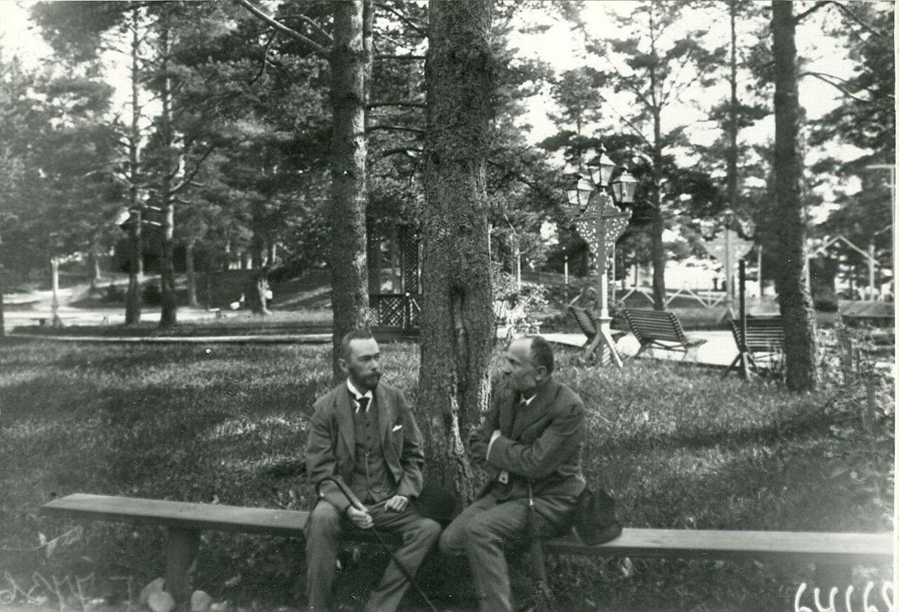 Группа депутатов Первой Государственной думы - участников Териокского совещания в парке