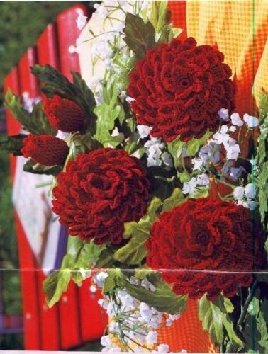 Rosas Vermelhas crochet.foto