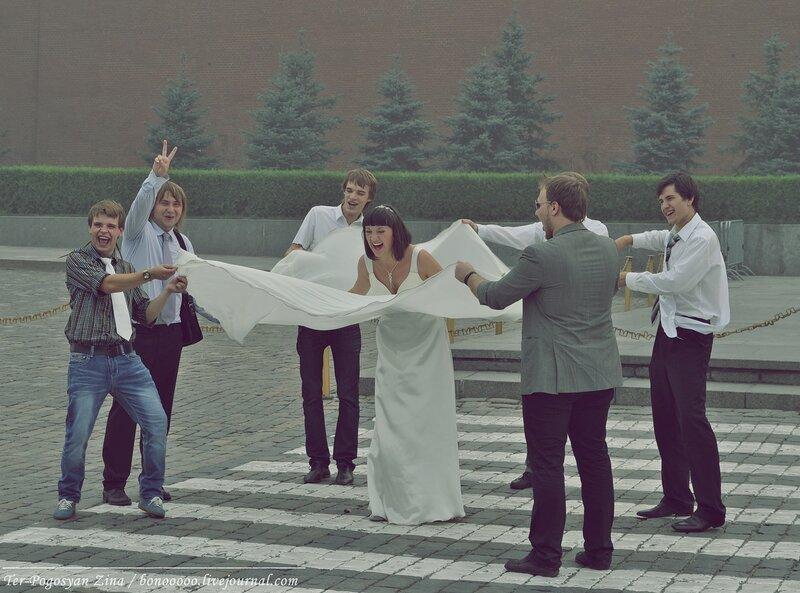 Свадьбы на Красной Площади
