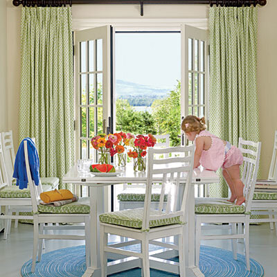 салатовый цвет в декоре