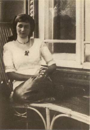 Анна Ахматова в Слепнёве